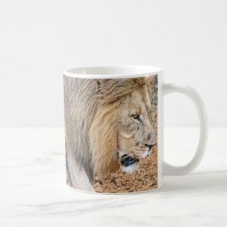 African Lion Coffee Mug