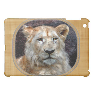 African Lion Cub Wildlife Art for iPad Cover
