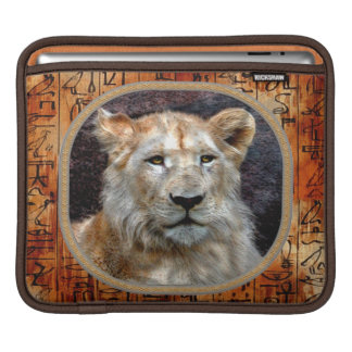 African Lion Endangered Animal iPad Sleeve