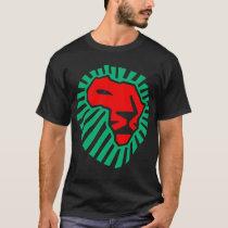 African Lion head waka-waka. ( 2 side ) T-Shirt