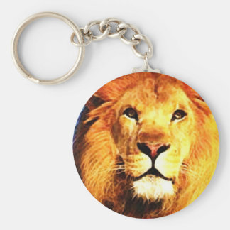 African Lion Key Chains
