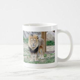 African Lion Classic White Coffee Mug