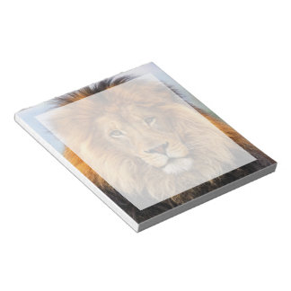 African Lion Note Pad
