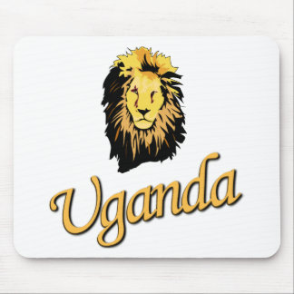 African Lion O Series Mouse Pad