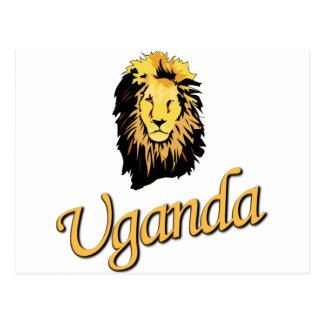 African Lion O Series Postcard