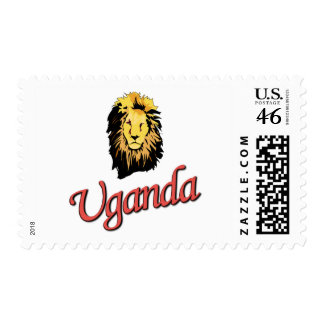 African Lion R Series Postage Stamps