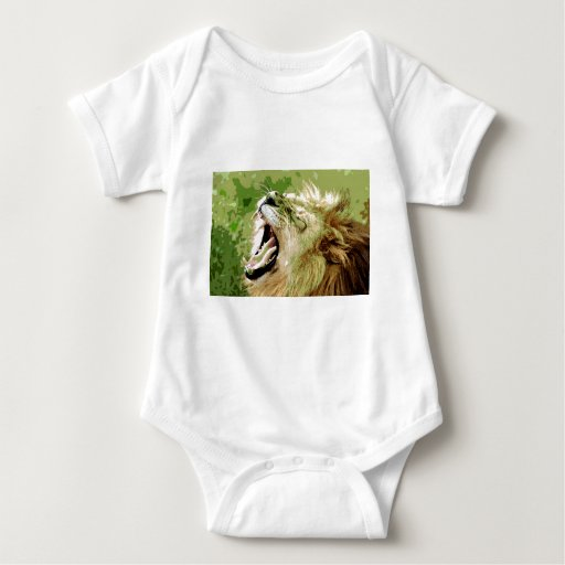 African Lion Roaring Infant Creeper