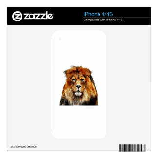 African Lion Skin For iPhone 4S