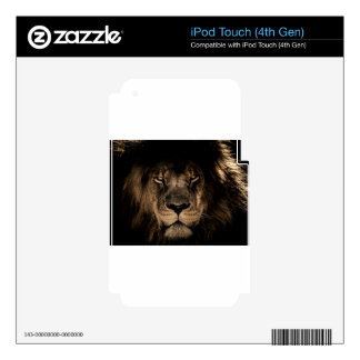 African Lion Skin For iPod Touch 4G