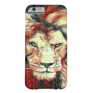 African Lion Surreal Wildlife Art iPhone 6 Case