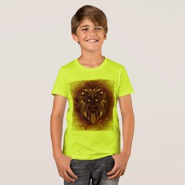 Beach Themed African Lion T-Shirt