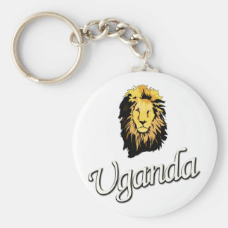 African Lion W Series Key Chain