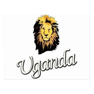 African Lion W Series Postcard