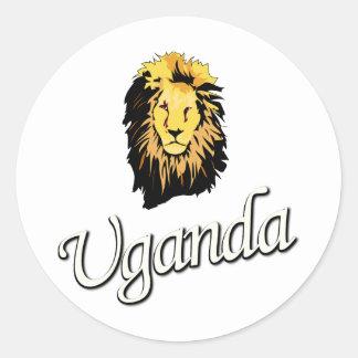 African Lion W Series Sticker