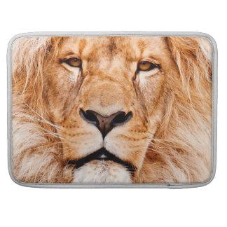 African Lion Wildlife Animal Closeup Portrait MacBook Pro Sleeve