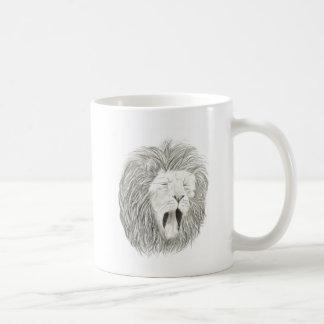 African Lion; Wildlife Artwork Collection Coffee Mug