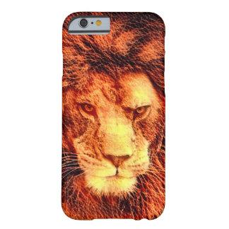 African Lion Woodcut Wildlife Art iPhone 6/6s Case
