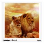 African lions - safari - wildlife wall decal<br><div class='desc'>&quot;lioness,  africa,  king,  nature&quot;, &quot; wild,  kenya,  zoo,  savannah&quot;, &quot;african lion &quot;, &quot;lion animal&quot; ,  &quot;male lion&quot;, &quot;female lion&quot;, &quot;lions in the wild&quot; , &quot;lion safari &quot;, &quot;lions in kenya &quot;, &quot;wild animals &quot;</div>