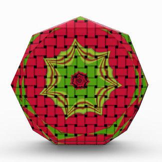 African Lovely Woven red design Award