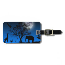 African Luggage tag