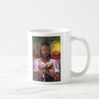 'African Majesty' ceramic mug