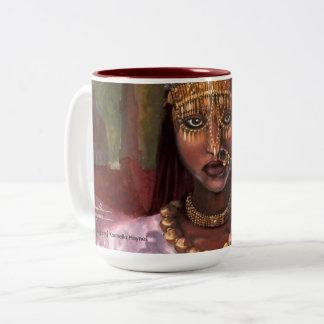 African Majesty signature mug