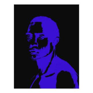 African man İllustration Flyer