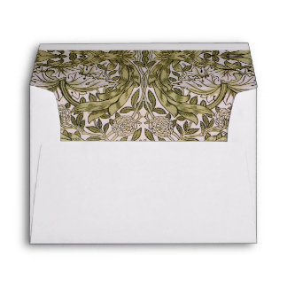 African Marigold Textile Print Design by Morris 2 Envelopes