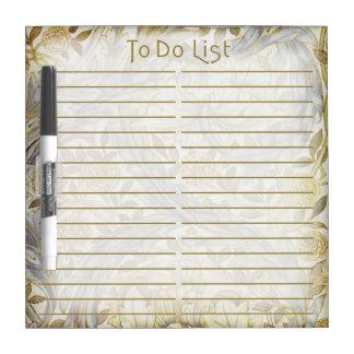 African Marigold To Do List - Eraser Board - 3 Dry-Erase Whiteboards