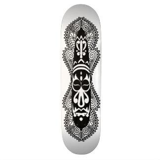 African Mask & Artwork 7 - Skateboard