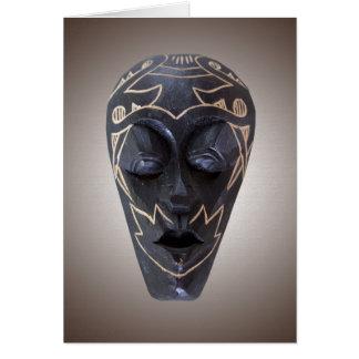 African Mask Card set