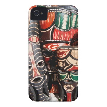 African mask Case-Mate iPhone 4 case