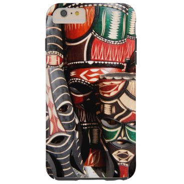 African mask tough iPhone 6 plus case
