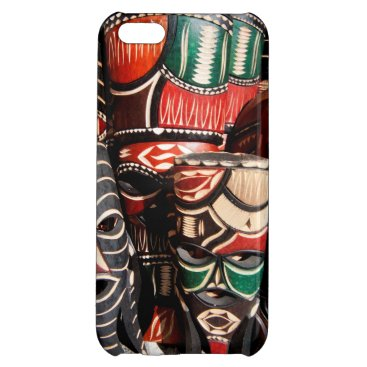 African mask case for iPhone 5C
