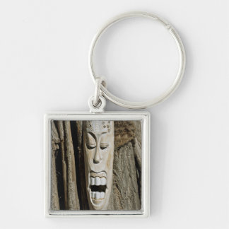 African Mask Keychains