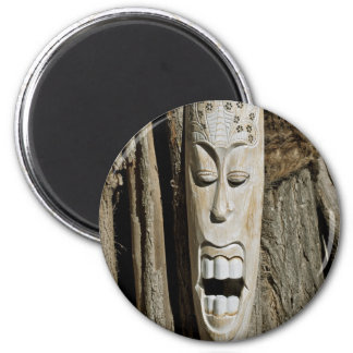 African Mask Magnet