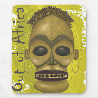 African Mask Mouse Pad