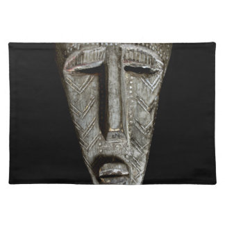 African mask placemat