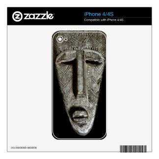 African mask iPhone 4S skin