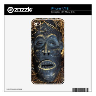 African mask decals for the iPhone 4S