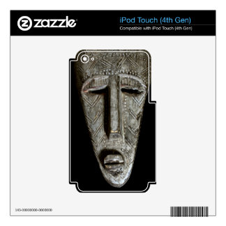 African mask skin for iPod touch 4G