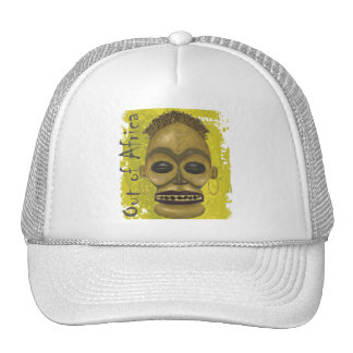 African Mask Trucker Hat
