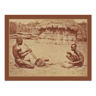 African Men Postcard