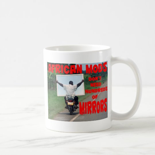 african mods coffee mug
