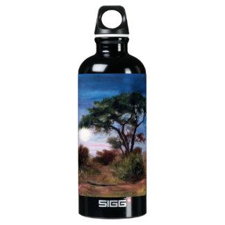 African Moon Aluminum Water Bottle