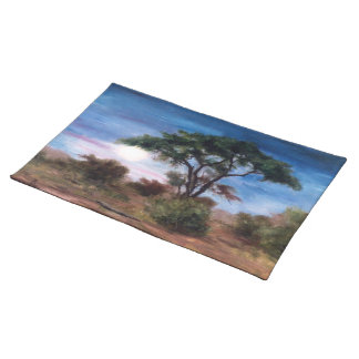 African Moon Cloth Placemat