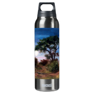 African Moon Insulated Water Bottle
