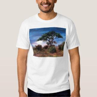 African Moon Mens Tshirt