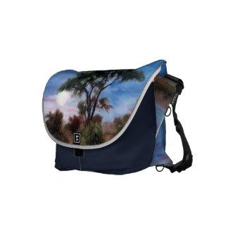 African Moon Messenger Bag