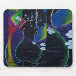 African Moon Miami Deco Mouse Pad